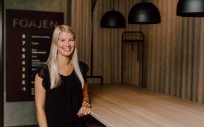 Välkommen till Aspekta, Fanny Nilsson, byråns nya praktikant